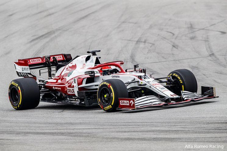 Kubica ook tijdens GP van Italië vervanger Raikkonen