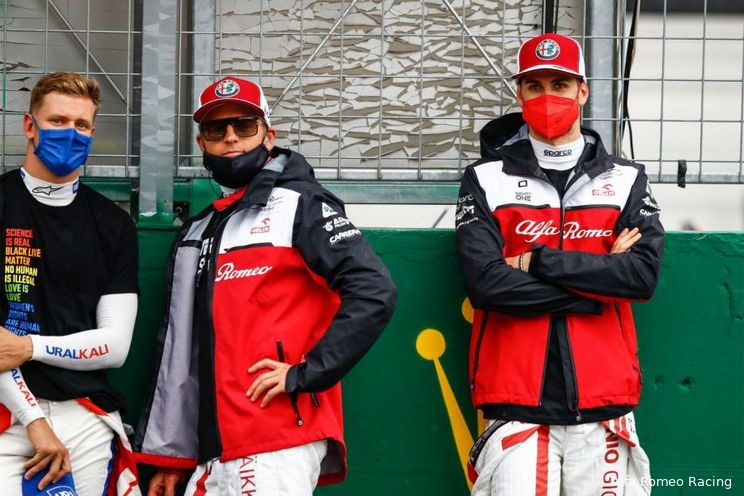 Wie rijden er bij Alfa Romeo in 2022?