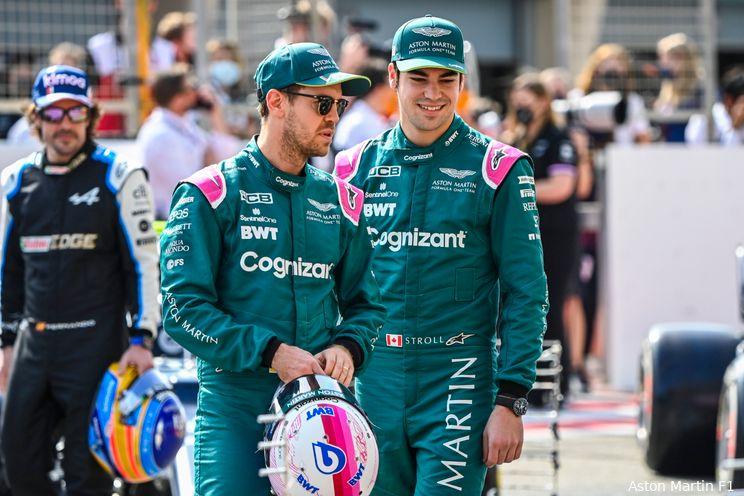 Aston Martin bevestigt Stroll en Vettel als coureurs voor 2022-seizoen