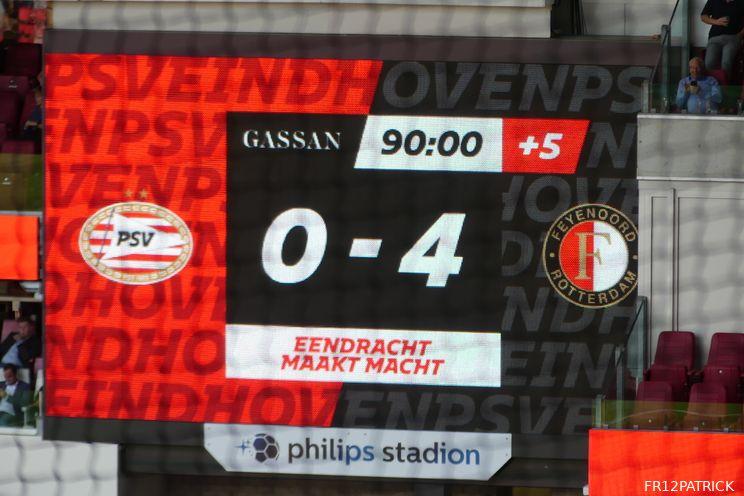 Samenvatting PSV - Feyenoord online