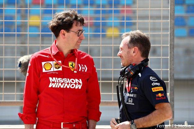 Binotto: 'Met nieuwe motor aansluiting gevonden bij Red Bull en Mercedes'