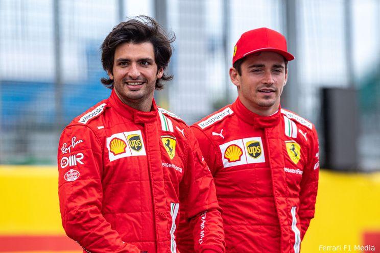 Ferrari-coureurs blij met sterk weekend: 'We reden vandaag scherp en agressief'