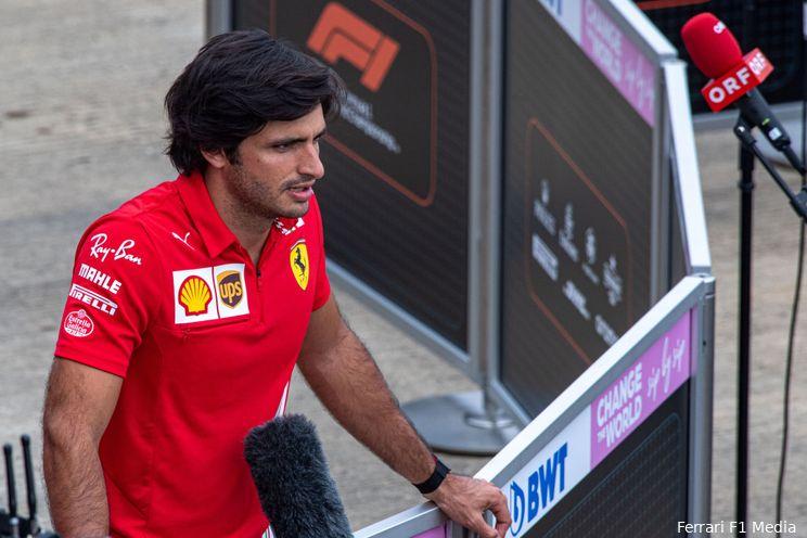 Sainz en Leclerc overwegend tevreden met nieuwe onderdelen: 'Weten niet wat het resultaat is'