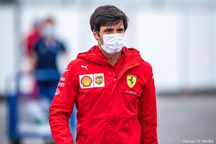 Sainz ontzettend tevreden met P2: 'Mercedes en Perez zijn alleen wel veel sneller'