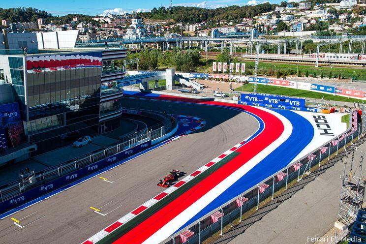 Hoe laat begint de Grand Prix van Rusland 2021?