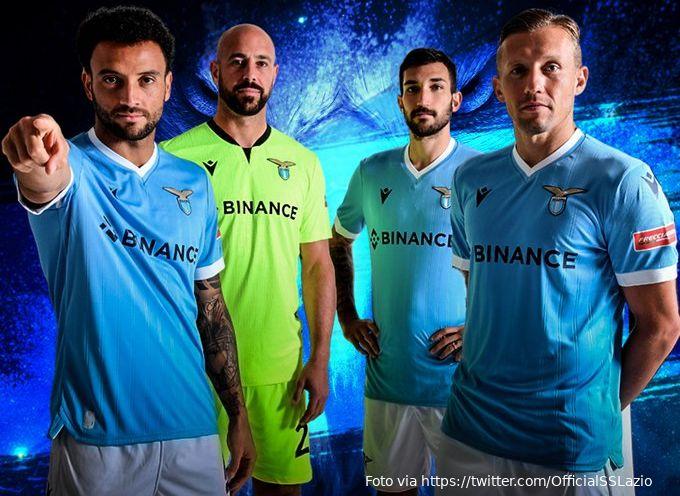 Cryptobeurs Binance is de nieuwe hoofdsponsor van Lazio Roma