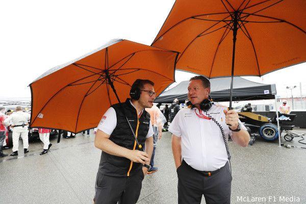 McLaren rekent op natte kwalificatie in Turkije