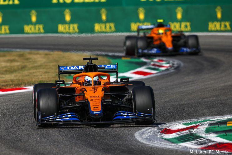McLaren-duo kijkt vol verbazing naar gereanimeerd Istanbul Park