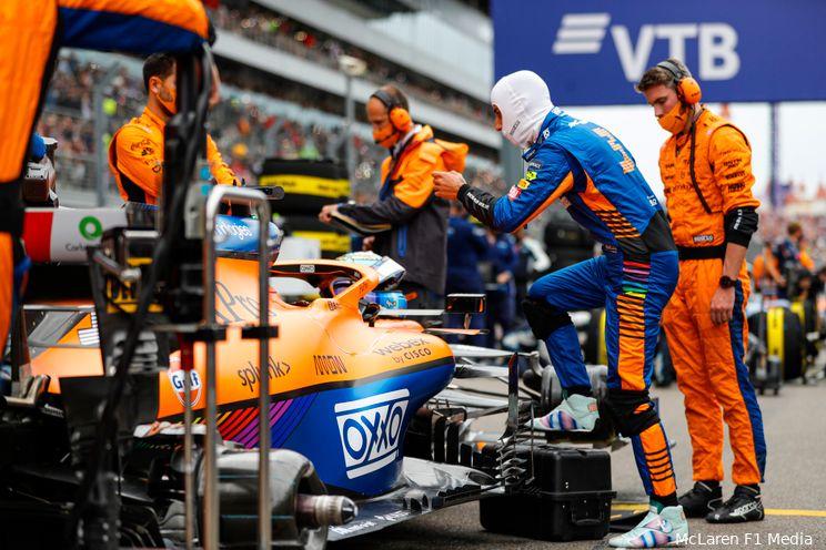 Ricciardo: 'Per circuit verschillend of we met Red Bull en Mercedes kunnen strijden'