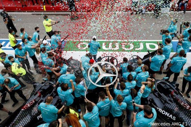 Mercedes rijgt records aan elkaar in opvallend kort seizoen