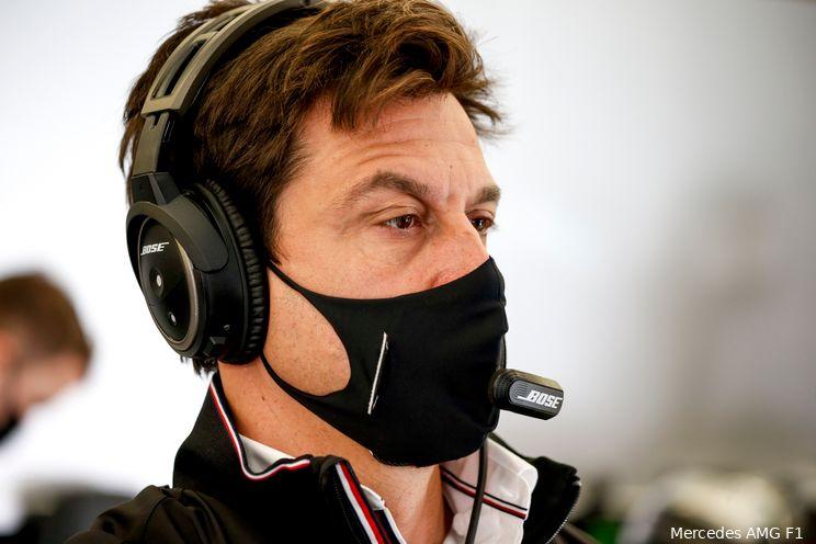 Wolff over motorproblemen: 'Misschien haalt Hamilton met deze motor het einde niet'