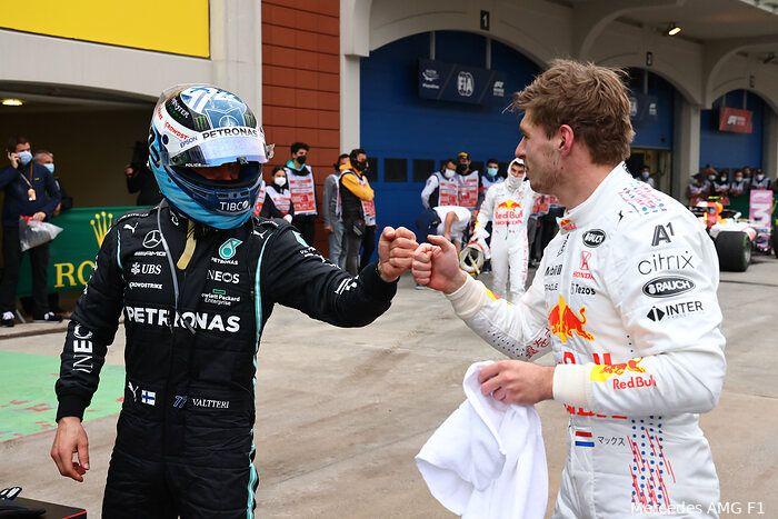 Verstappen tevreden, maar waakt voor Mercedes: 'We zijn nu gewoon nog te langzaam'