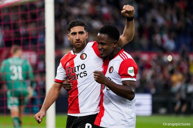 Opstelling Feyenoord: Slot past voorhoede aan