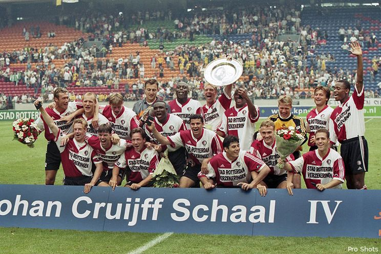 Terugblik: Feyenoord verovert Johan Cruijff Schaal in 1999
