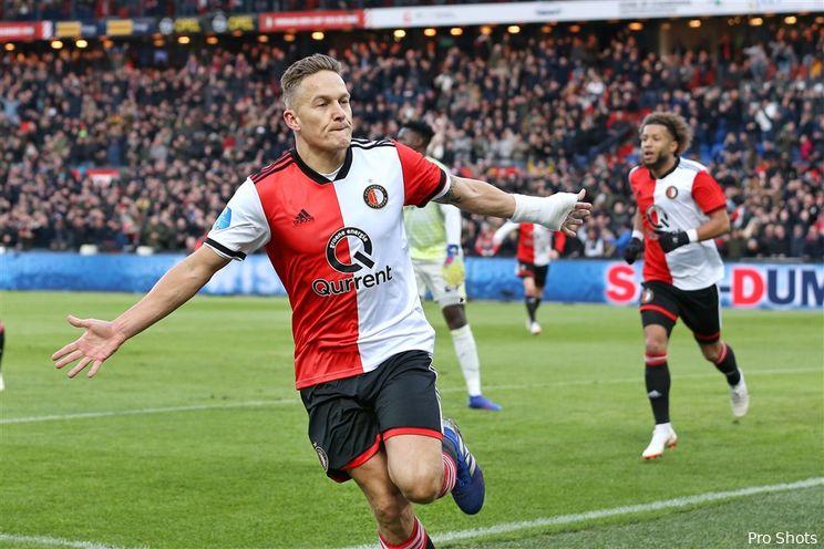 Opstelling Feyenoord tegen Heracles Almelo bekend