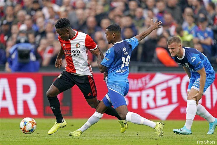 Afgelopen   Feyenoord - Heracles Almelo (1-1)