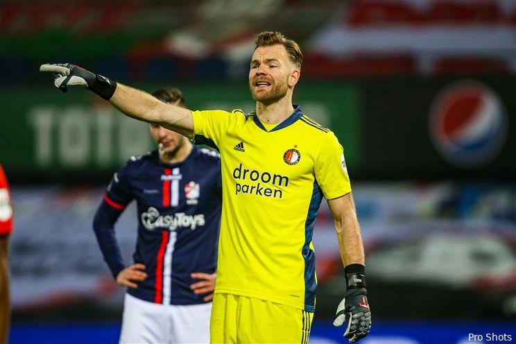 Eredivisie: Feyenoord blijft vijfde in de Eredivisie