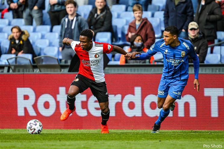 Gouka oppert Doekhi: ''Op zulke spelers moet Feyenoord zich richten''