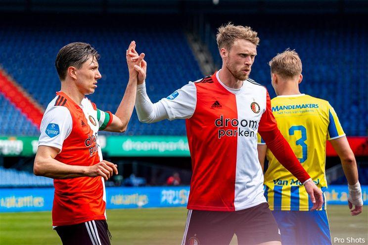 Eredivisie: Feyenoord eindigt seizoen op 59 punten