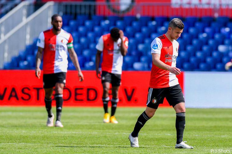 Eredivisie: Feyenoord heeft wonder nodig voor plek vier