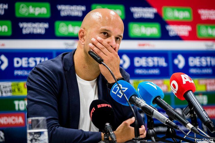 Persconferentie Slot: ''Ik zag een intense wedstrijd''