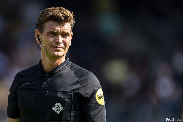 Kooij scheidsrechter bij Feyenoord - NEC; Van den Kerkhof fluit Heerenveen-thuis