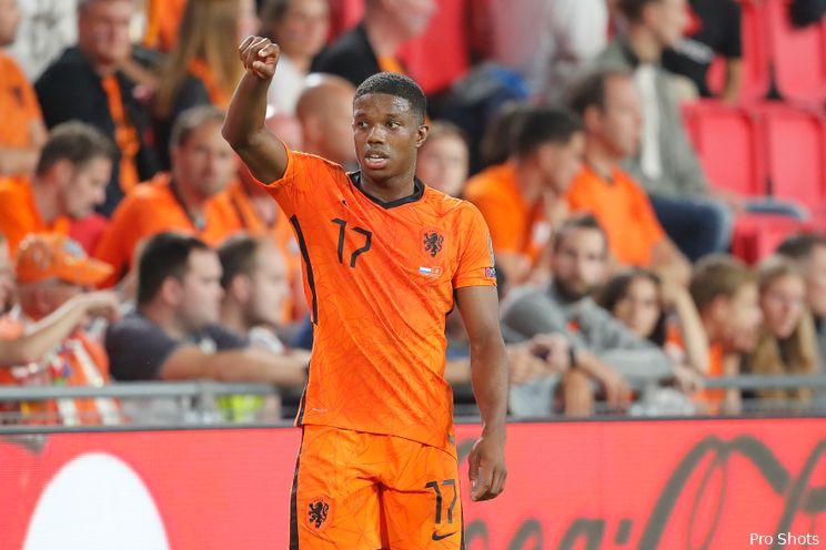 Malacia en Bijlow winnen met Oranje van Montenegro