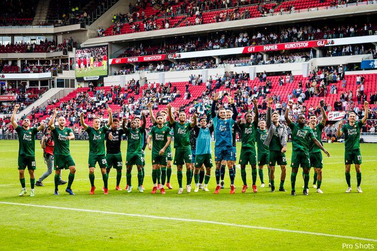 Eredivisie: Feyenoord naar vijfde plek; AZ verliest weer