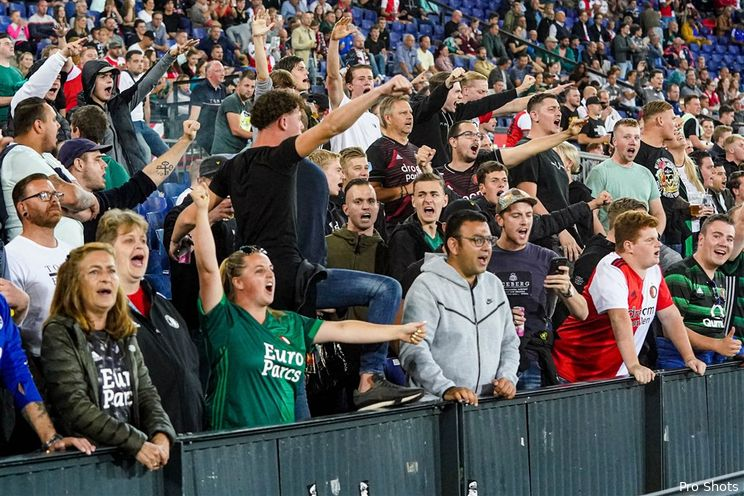Feyenoord organiseert donderdag 'Legioenzaal Outdoor'