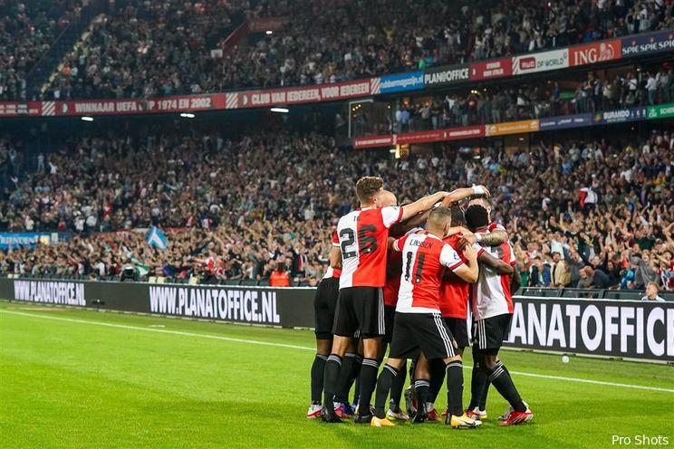 Eredivisie: Feyenoord klimt naar derde plek