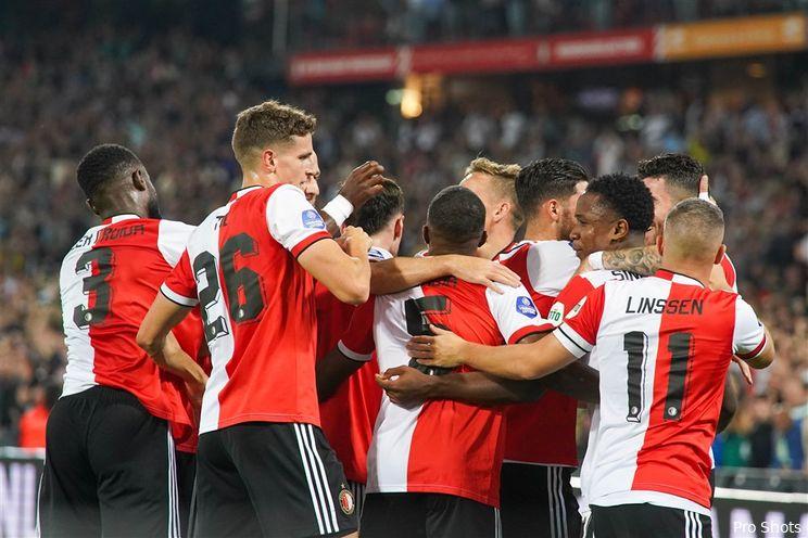 Feyenoord ontsnapt op krankzinnige avond tegen NEC