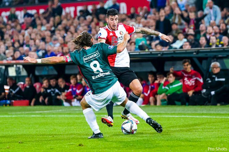 ''Feyenoord mag blij zijn met het feit dat hij gebleven is''