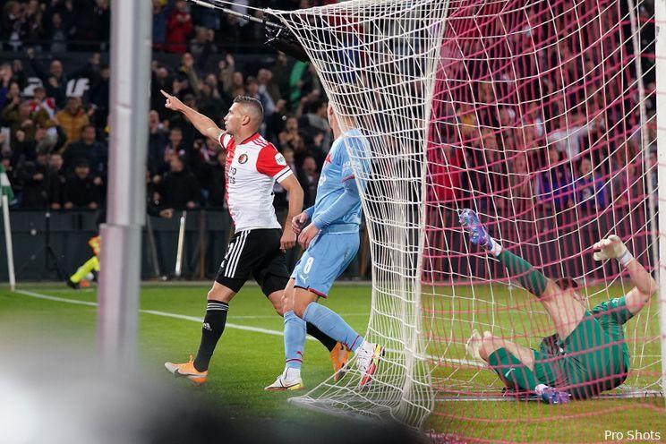 Videogoal Feyenoord: Linssen verdubbelt voorsprong