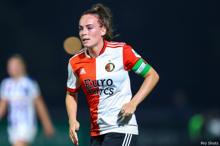 Kein Geloel met Annouk Boshuizen: ''Het Feyenoordlogo schept meteen verwachtingen''