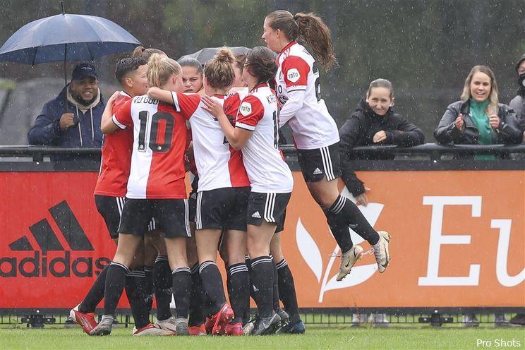 Feyenoord V1 verliest op bezoek bij koploper PEC Zwolle V1