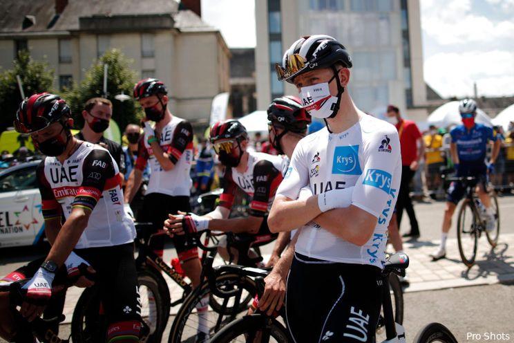 Pogačar volgens bookmaker favoriet tijdens etappe vijftien