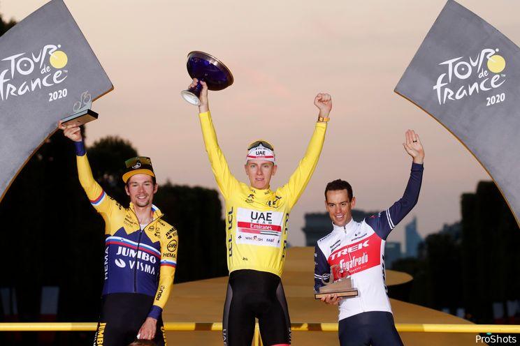 Pogačar favoriet tijdens etappe op Quatorze Juillet
