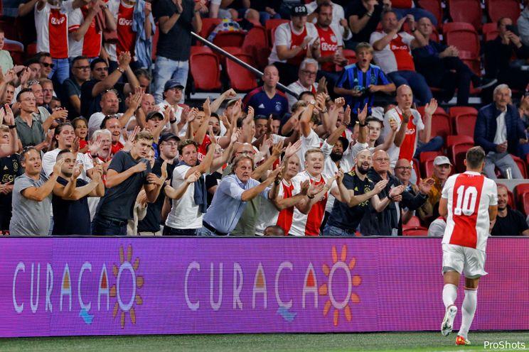 Wedden op Eredivisie: Ruim drie keer je inzet als Ajax weer vijf goals maakt