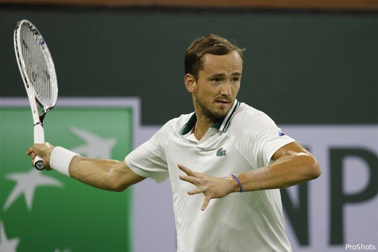 Wedden op tennis | Zekerheidje pakken met toernooizege Medvedev?