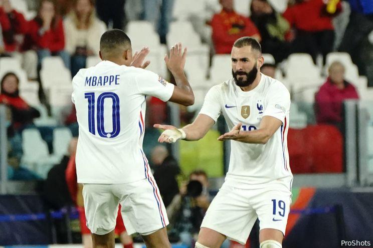 Finale Nations League: Frankrijk favoriet, Karim Benzema als favoriet getipt voor openingsgoal