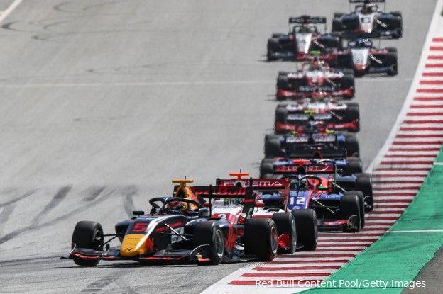 F3 in Oostenrijk   Vesti wint feature race, flinke crash Leclerc
