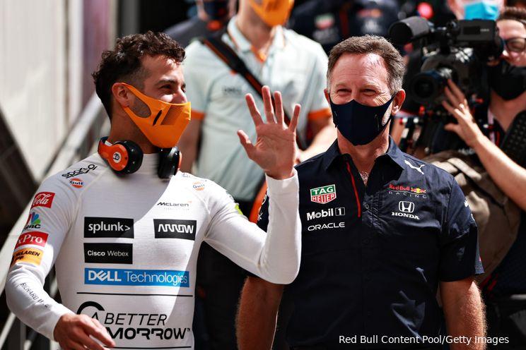 Ricciardo concludeert: 'Hamilton ging er te hard in'