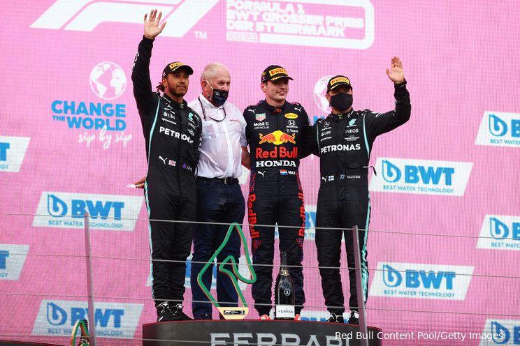 Vormcheck Oostenrijk   Verstappen en Perez moeten afrekenen met eenzame Hamilton
