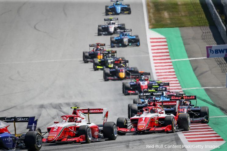 Onderweg naar F1 | Red Bull- en Mercedes-junioren zorgen voor F3-spektakel in Oostenrijk