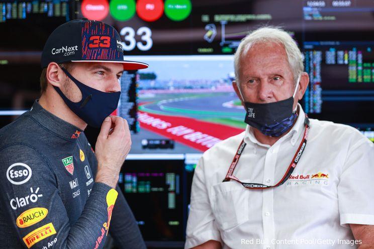 Marko zinspeelt op chassiswissel Verstappen in Amerika