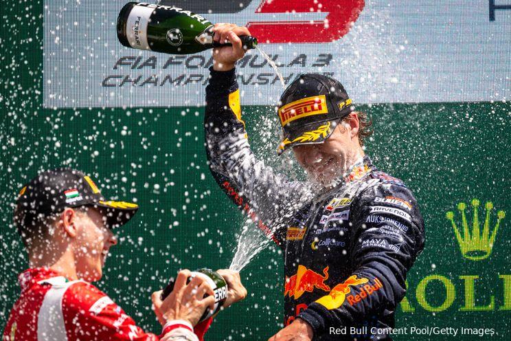 Red Bull-junior Dennis Hauger wint het Formule 3-kampioenschap in Sochi