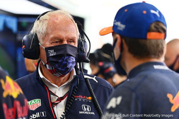 Marko verklaart klacht Verstappen over lage topsnelheid Red Bull