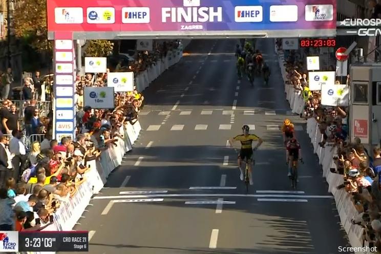 Tim van Dijke sprint naar zege in slotrit CRO Race, Williams eindwinnaar