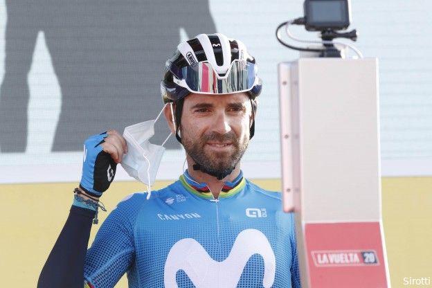 Valverde baalt van ongelukkige val na sprintzege: 'Niet winnen of niet vallen? Het tweede'