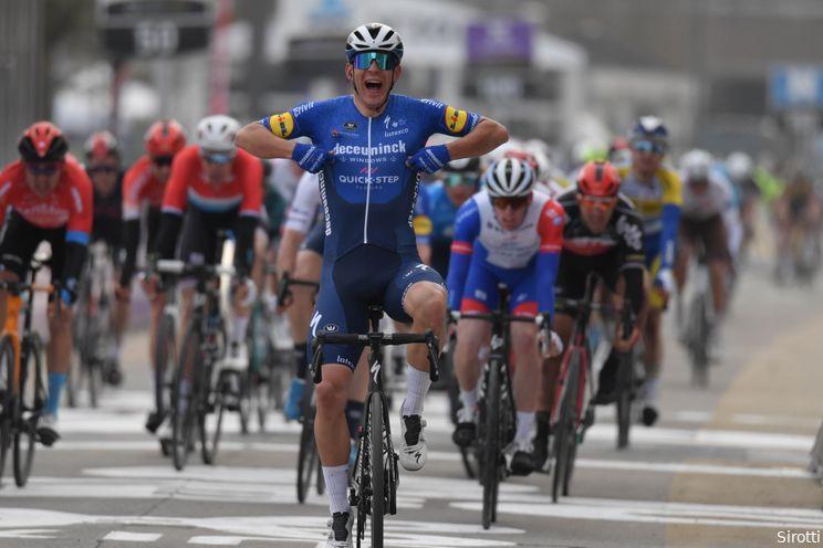 UAE Tour overlapt ook in 2022 met Omloop Het Nieuwsblad